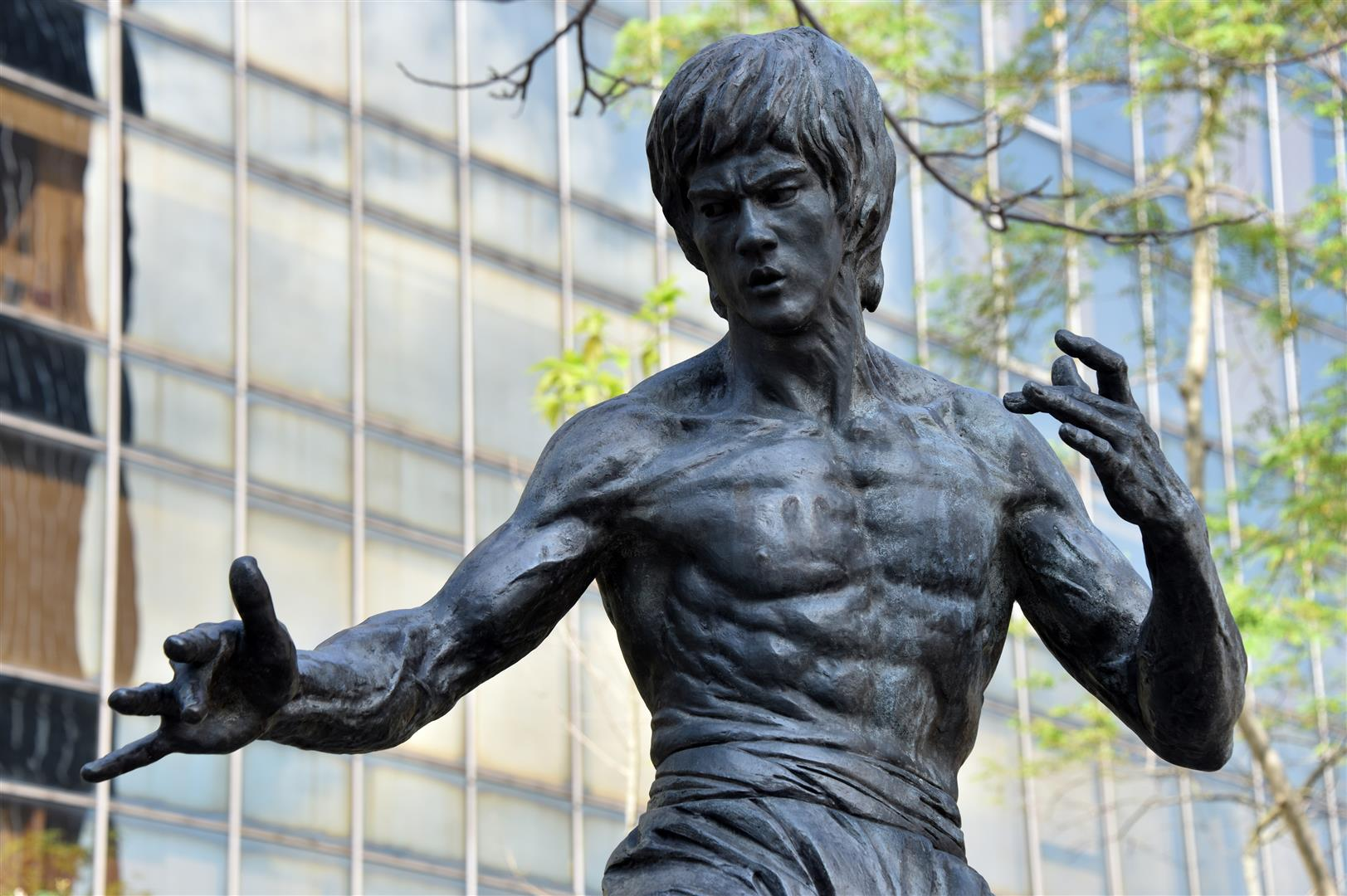 Hong Kong - Bruce Lee Statue (Large) - Copy