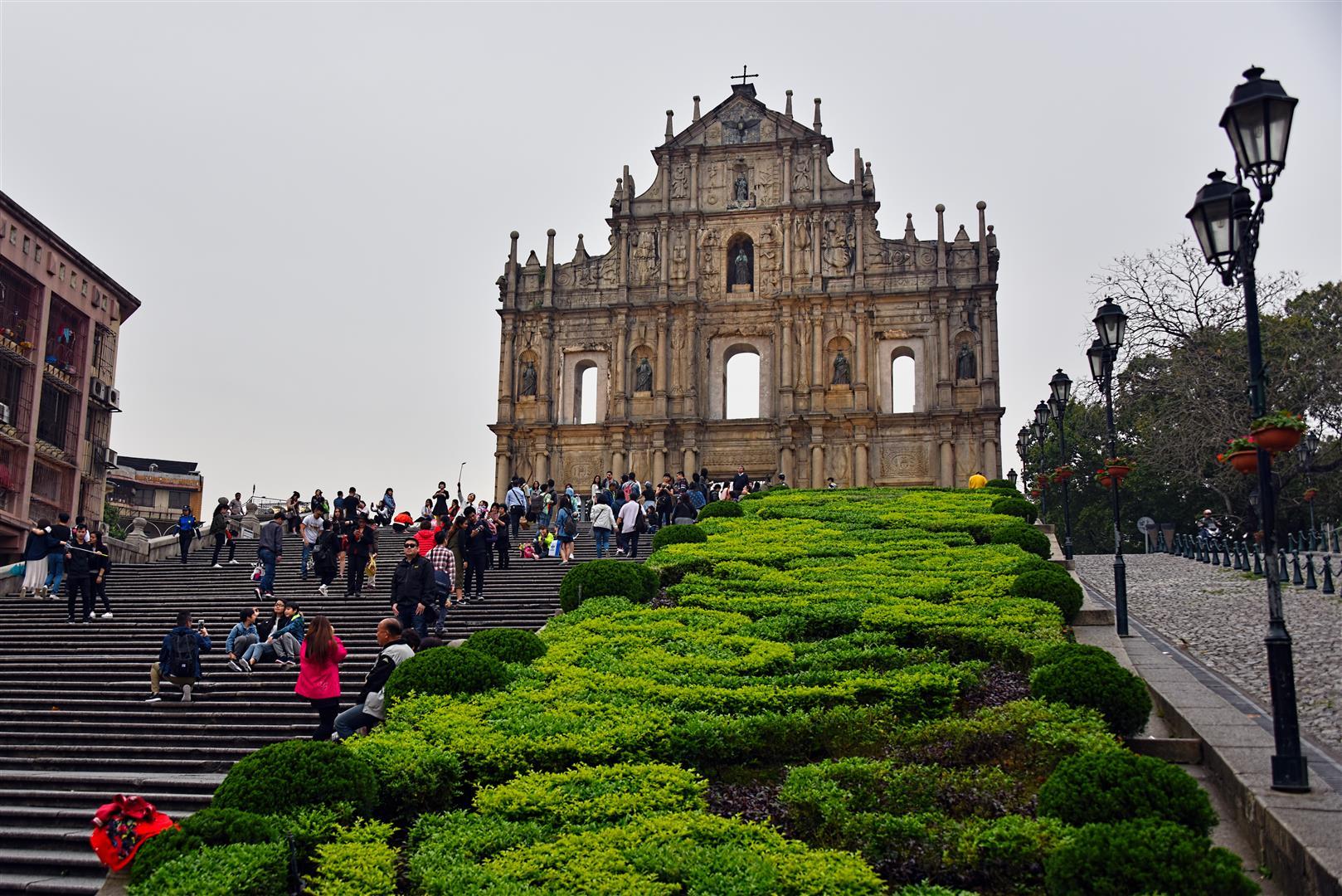Ruins Of St Paul - Macau (Large)