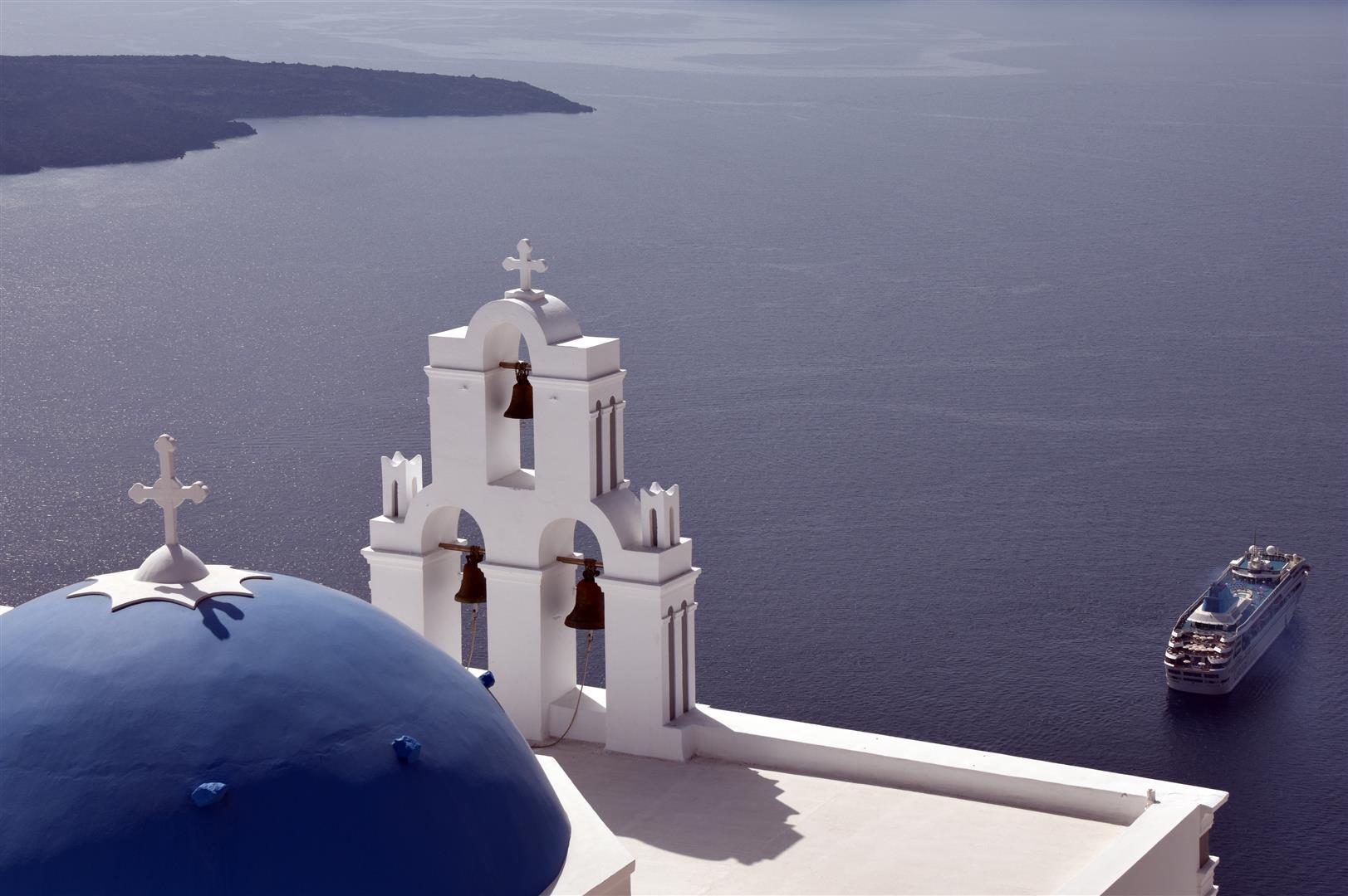 Santorini Oya View (Large)
