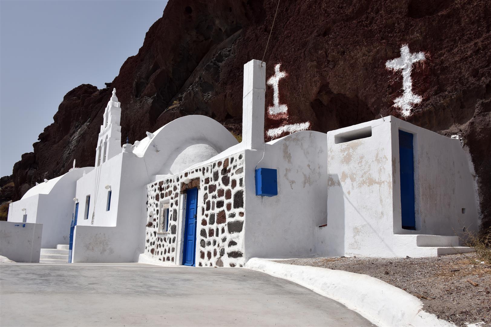 Santorini Temples (Large)