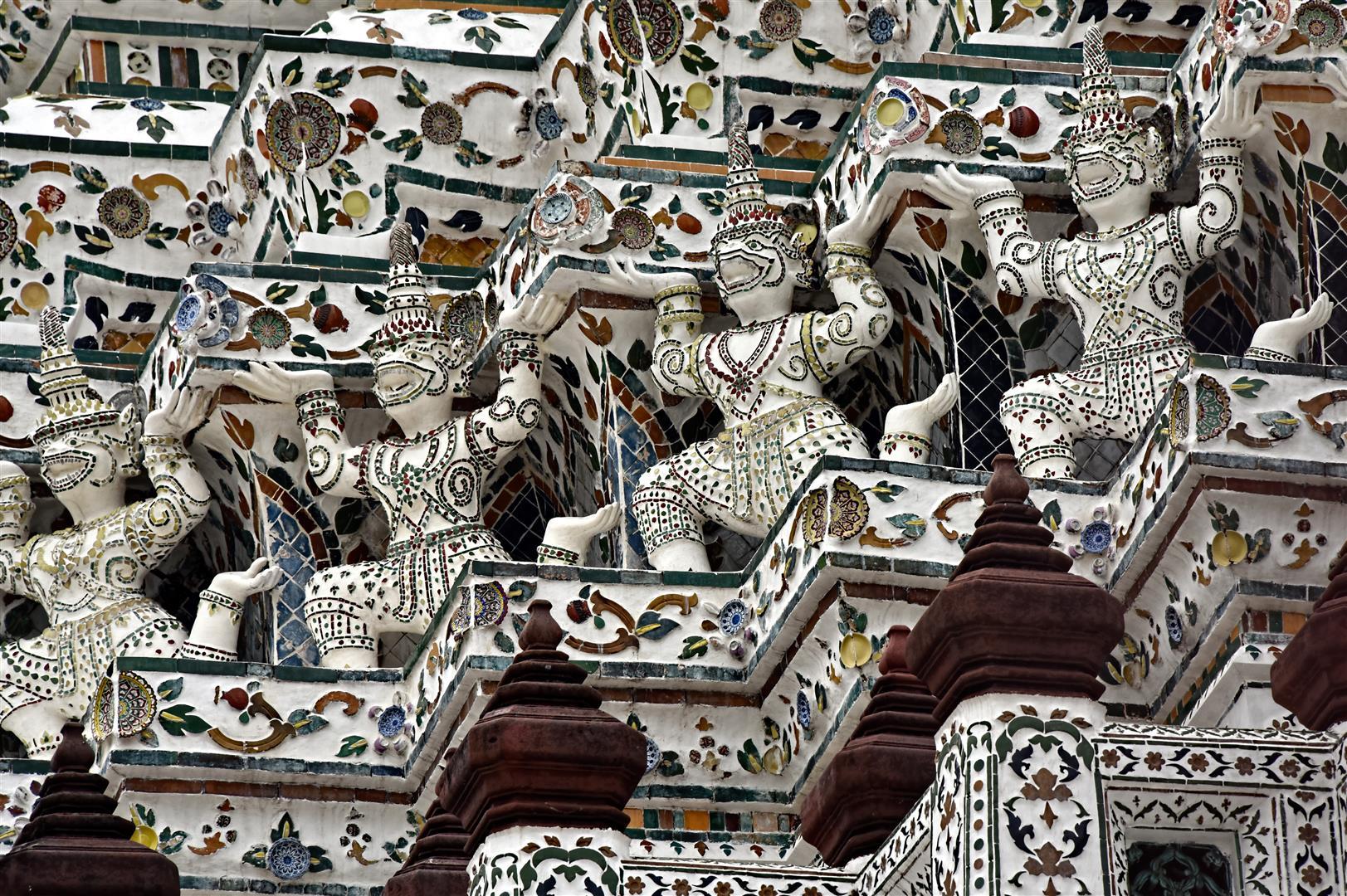 Thailand - Bangkok - Wat Arun Architecture (Large)