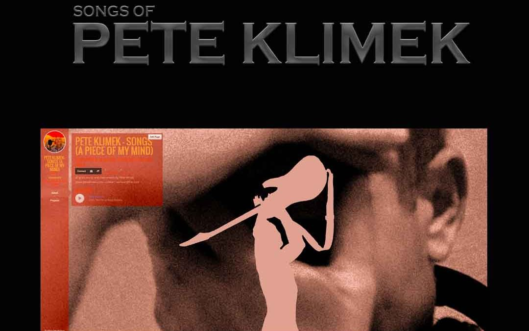 Songs Of PETE KLIMEK